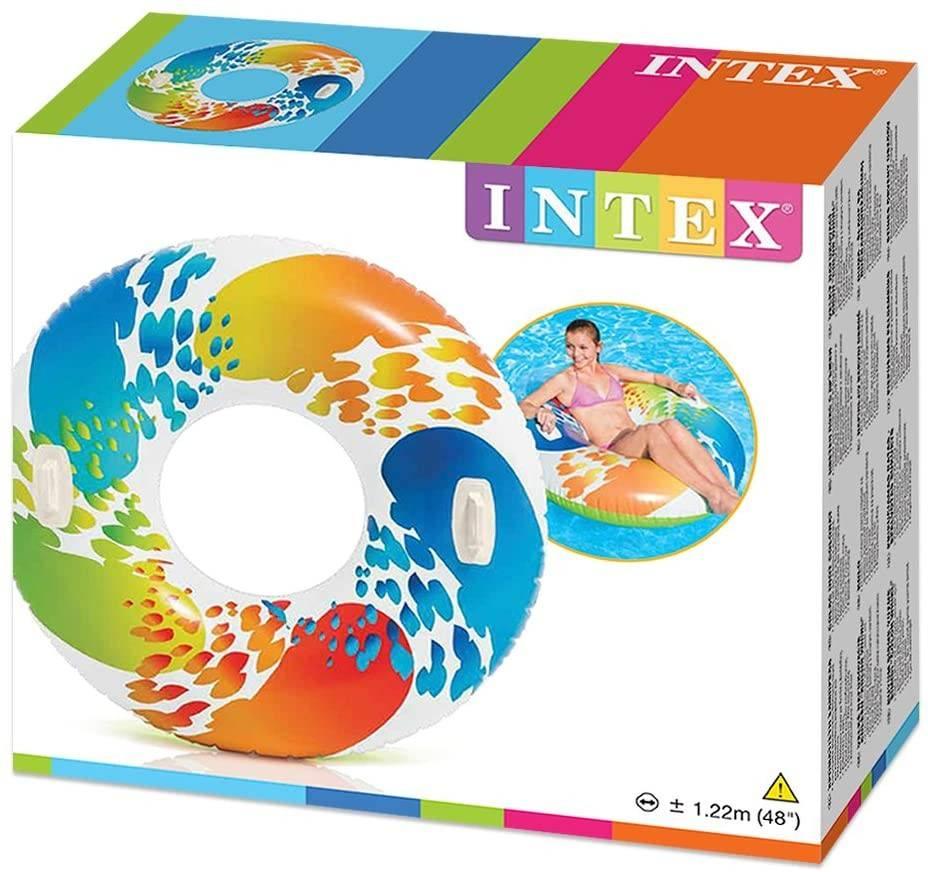 koło do pływania intex
