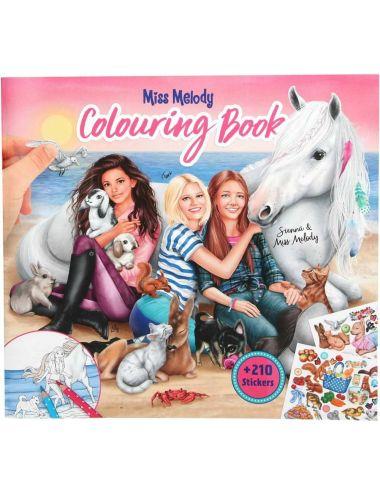 Miss Melody 10409 Kolorowanka z Naklejkami