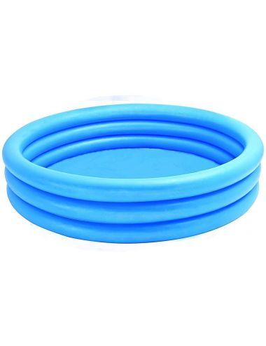 INTEX Basen dmuchany niebieski CRYSTAL BLUE 168x38cm