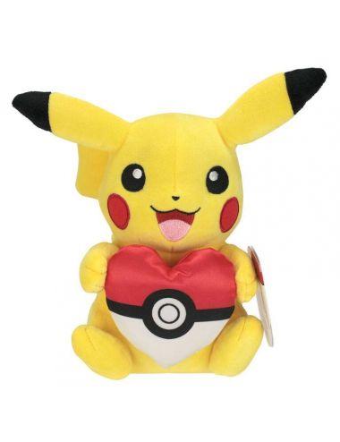 POKEMON Pikachu maskotka pluszowa 20 cm