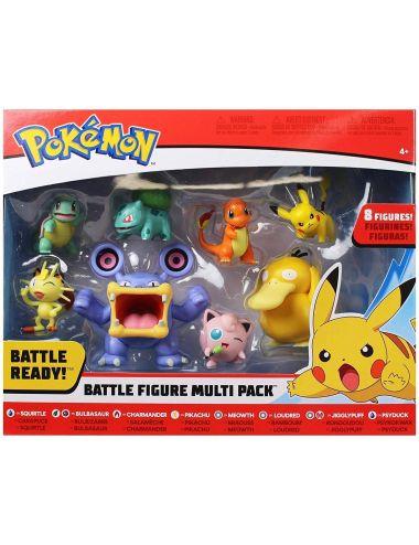 POKEMON Zestaw 8 Figurek battle multipack