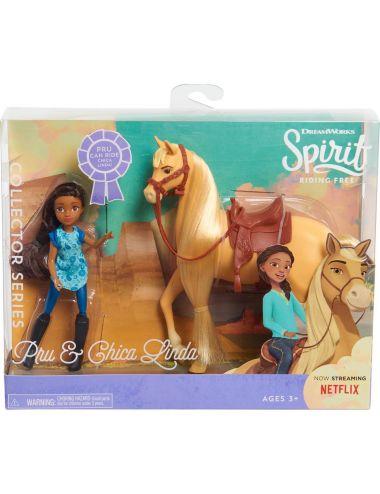 Laleczka Pru i rumak Chica Linda Duch wolności Spirit