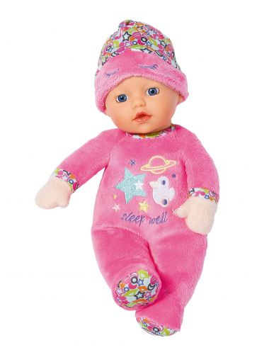 Baby Born śpiąca laleczka 30 cm miękka