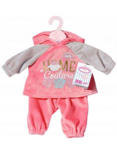 Baby Annabell Dresik Zestaw Sportowy dla Lalki Różowo - Szary 702062 A