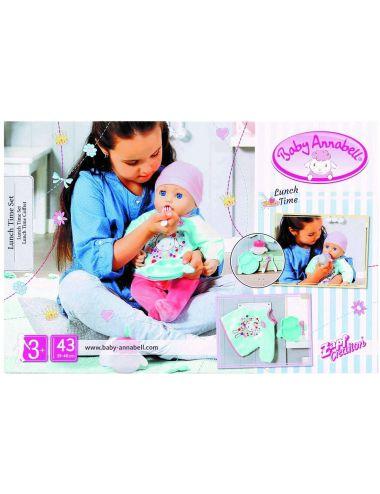 Baby Annabell 702024 Ubranko i Zestaw do Karmienia