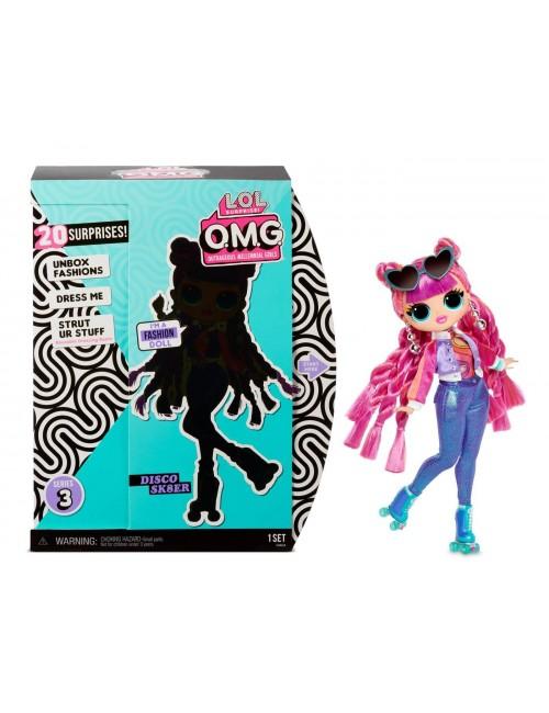 LOL Surprise Disco Sk8ter lalka OMG fashion doll