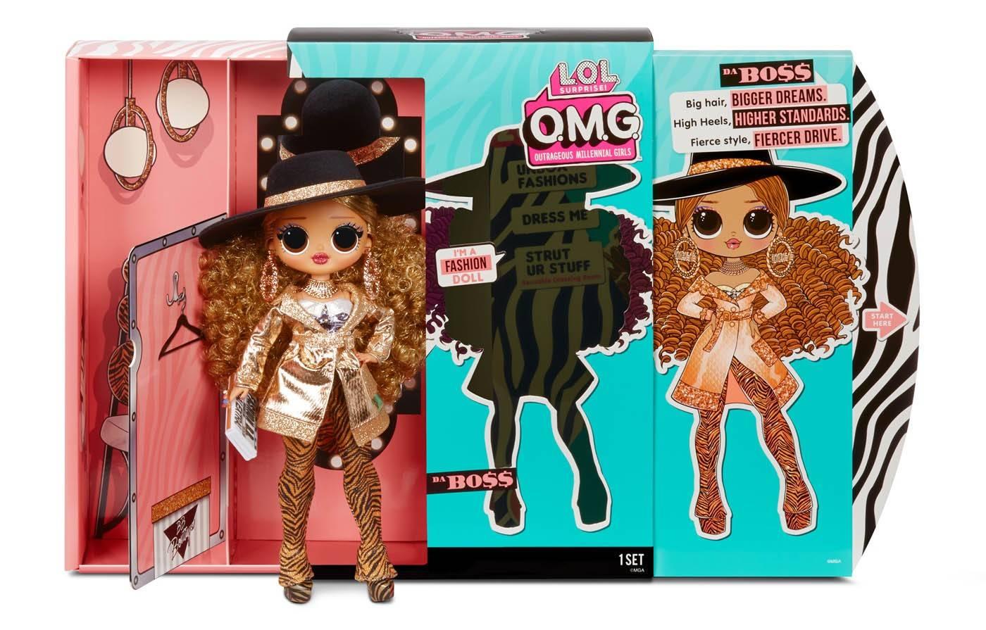 LOL Da Boss lalka pudełko