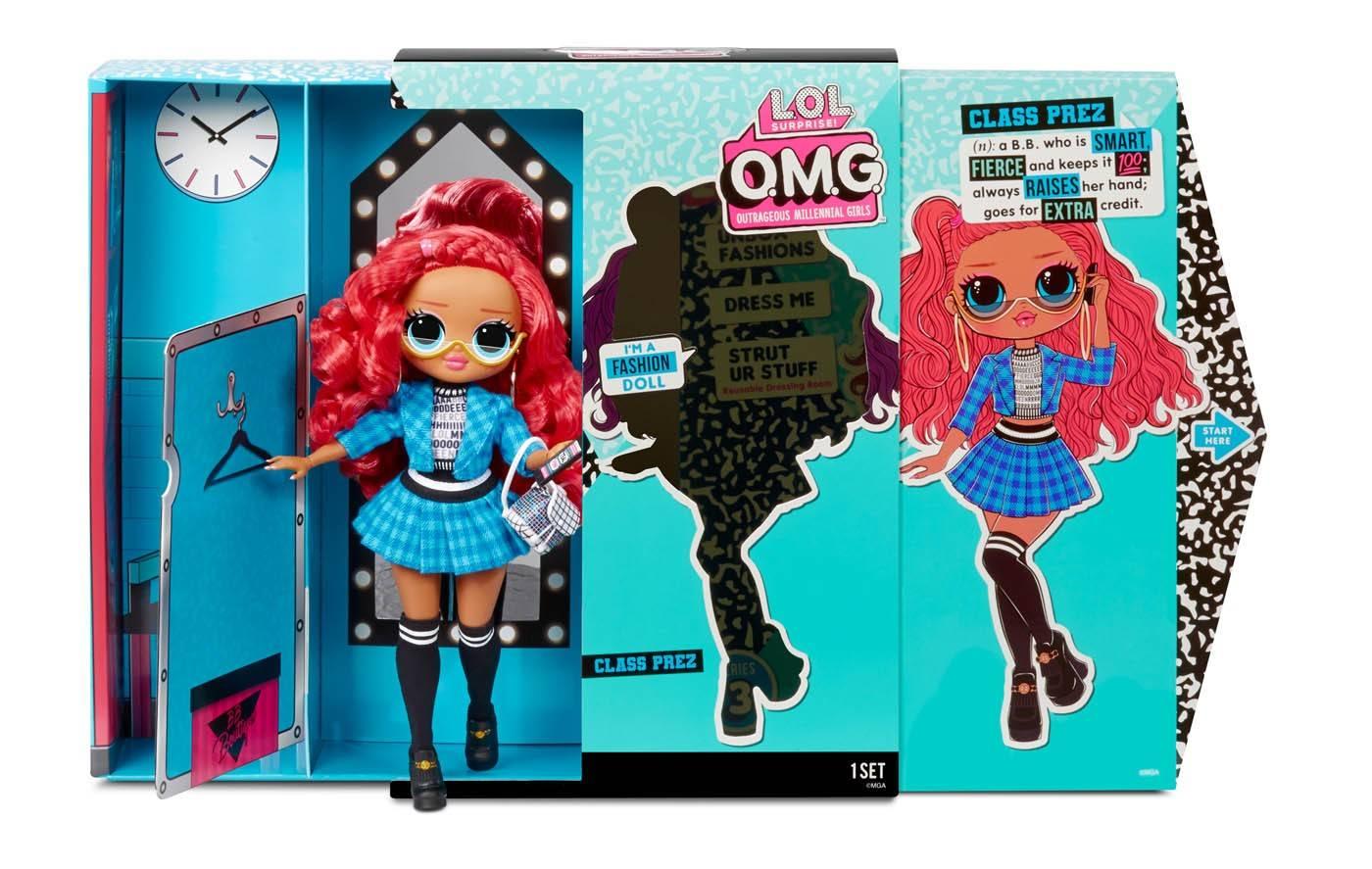 LOL Class Prez lalka pudełko