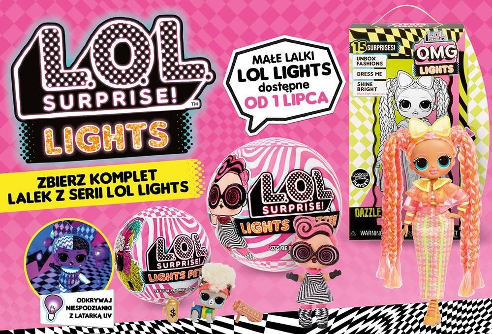 LOL Surprise Lights banner