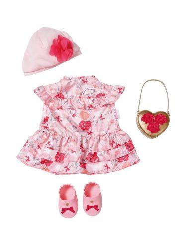 Baby Annabell Sukienka różowa w kwiatki 702031