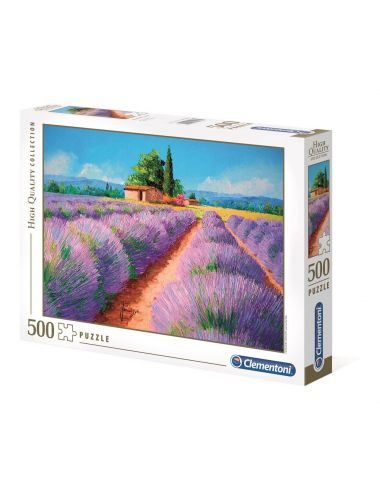 Clementoni Puzzle 500el. Zapach lawendy 35073
