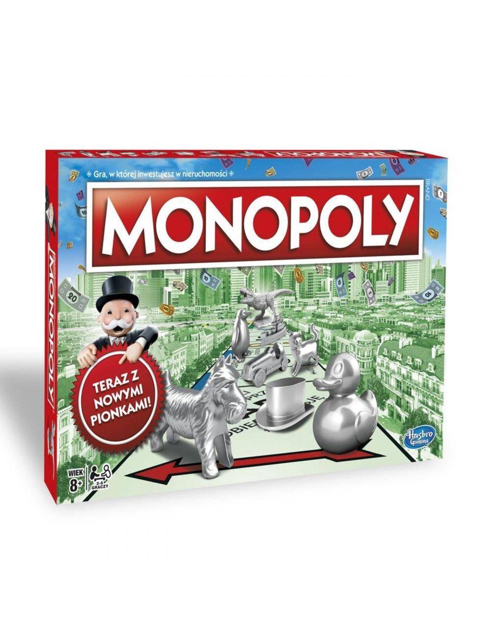 MONOPOLY Classic klasyczna gra ekonomiczna