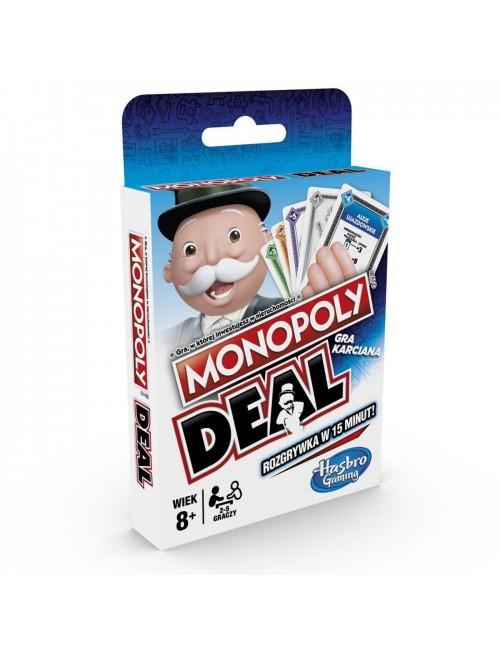 MONOPOLY Deal ekonomiczna gra karciana