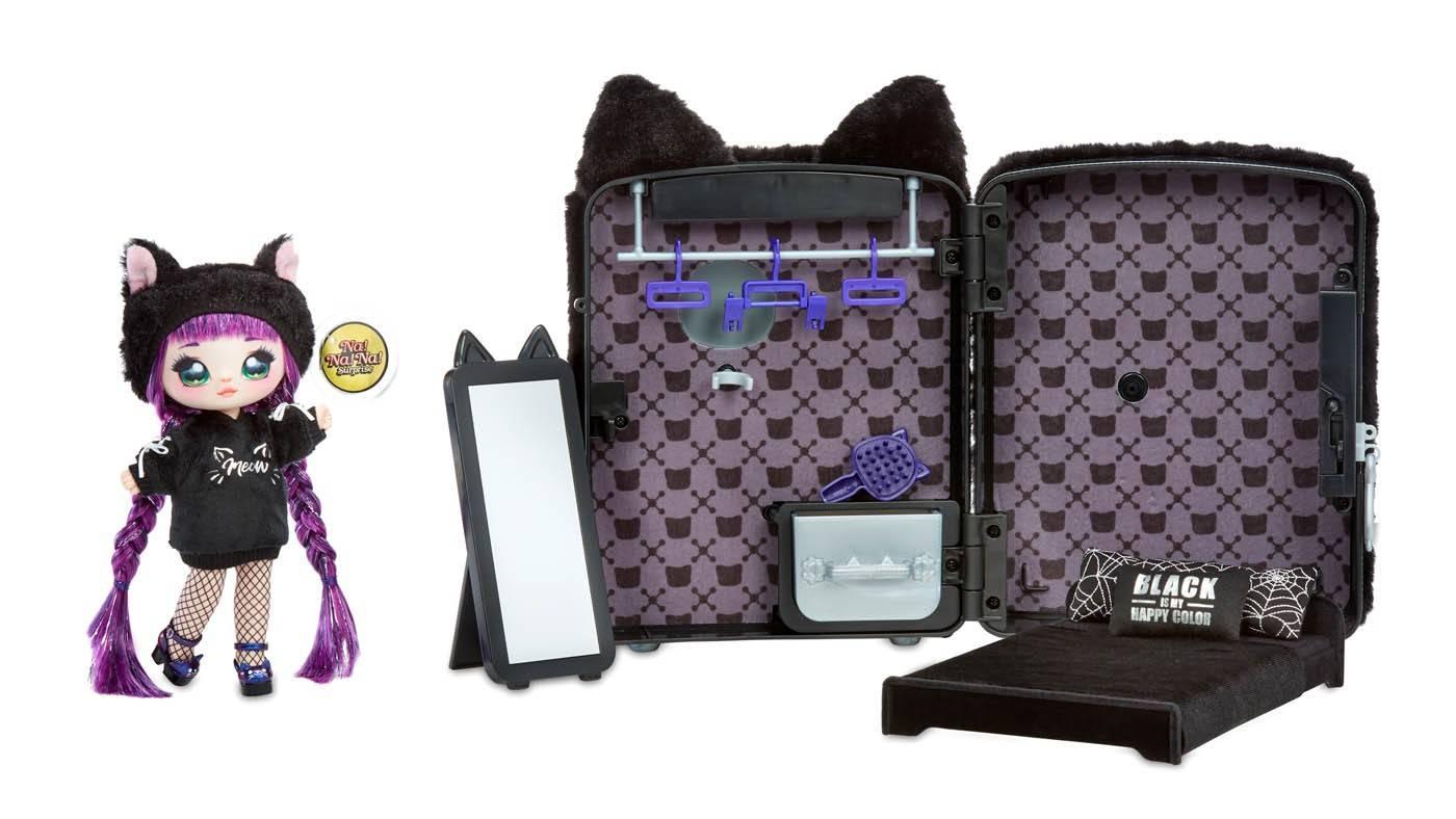 NANANA Backpack 3w1 plecak black tuesday meow
