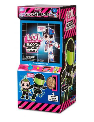 LOL Boys Arcade Heroes Cool Cat lalka w automacie do gier