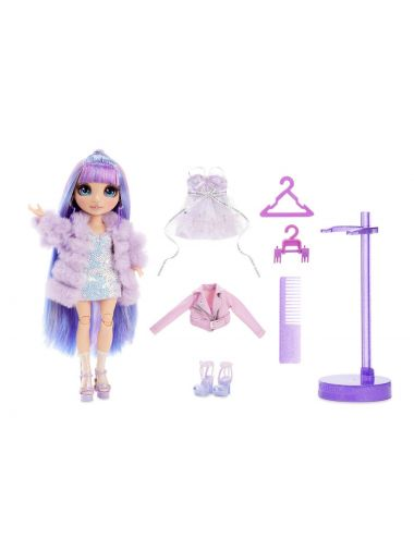 Rainbow High Violet Willow Lalka modowa 569602 pudełko