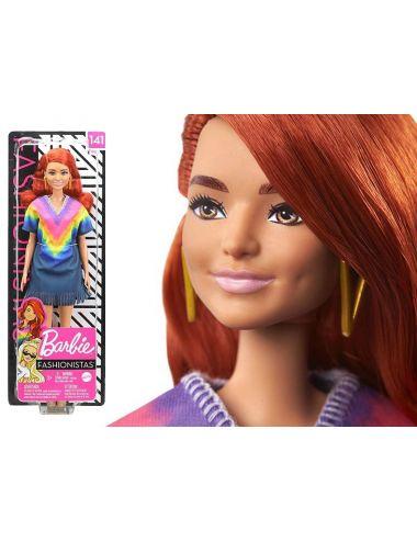 Barbie Lalka Fashionistas GHW55
