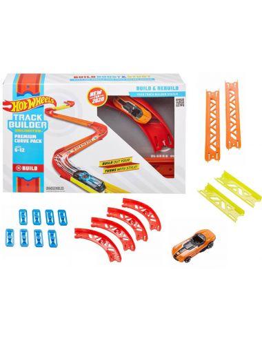 Hot Wheels Zakręty zestaw do rozbudowy Track Builder Unlimited GLC88