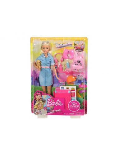 Barbie w podróży