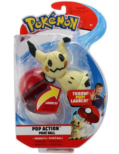 Pokemon Pop Action PokeBall i Mimikyu figurka 95093