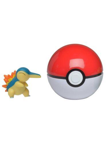 Pokemon Clip'N'Go Pokeball z figurką Cyndaquil 5cm 97648