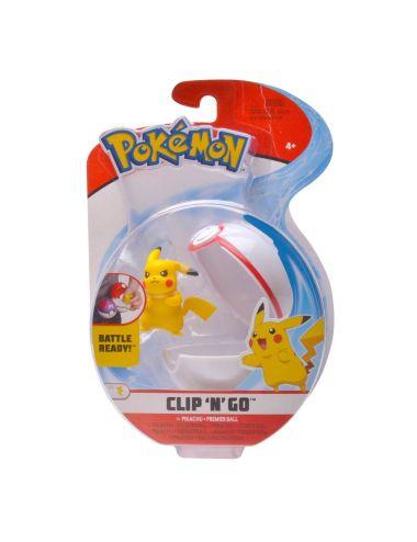 Pokemon Clip'N'Go Pokeball z figurką Pikachu 5cm 97646