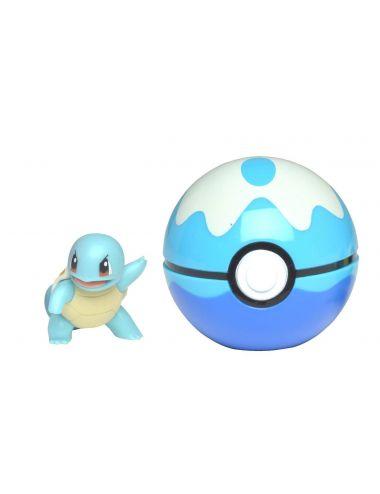 Pokemon Clip'N'Go Pokeball z figurką Squirtle 5cm 97651