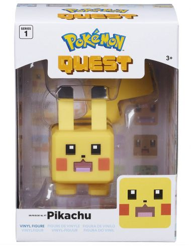 Pokemon Quest Pikachu figurka vinylowa 10cm 97701