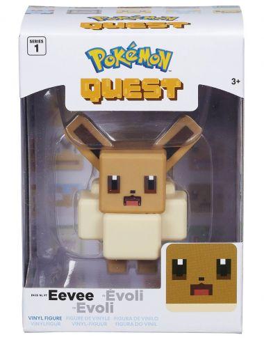 Pokemon Quest Evee figurka vinylowa 10cm 97704