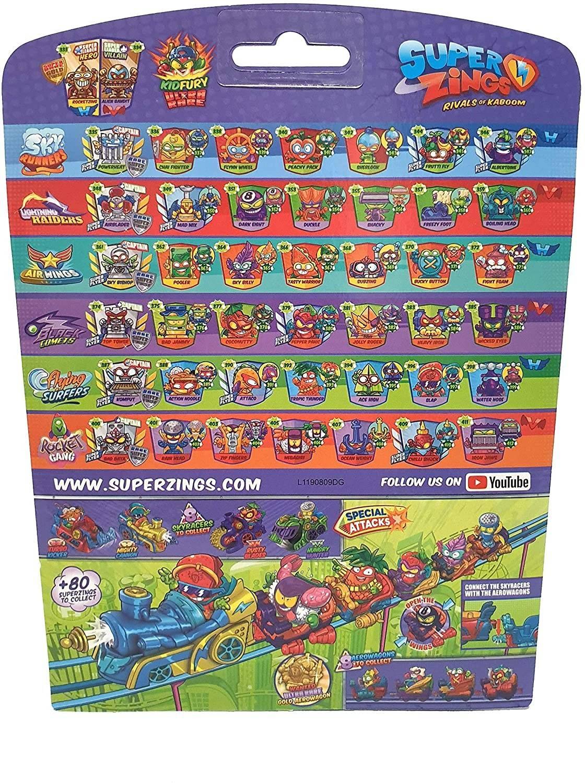 Super Zings figurki Aerowagon Seria 5