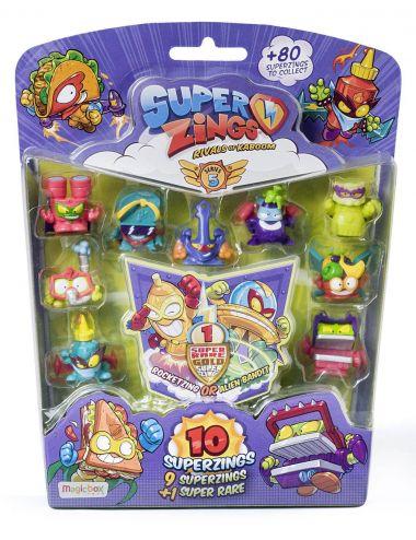 Super Zings 10 pak figurek zestaw Seria 5