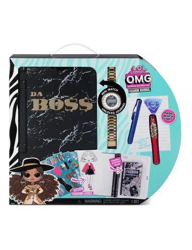 LOL OMG Pamiętnik z zegarkiem Fashion Journal 571278