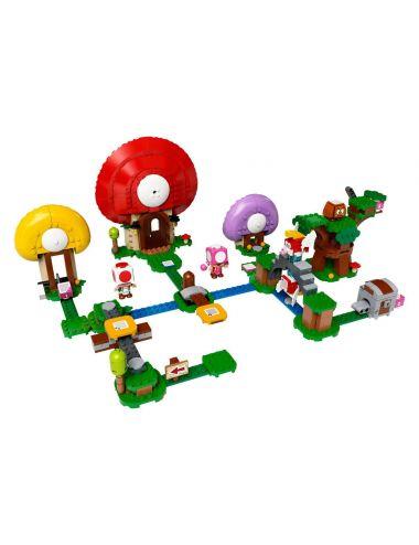 Lego Super Mario Toad szuka skarbu 71368