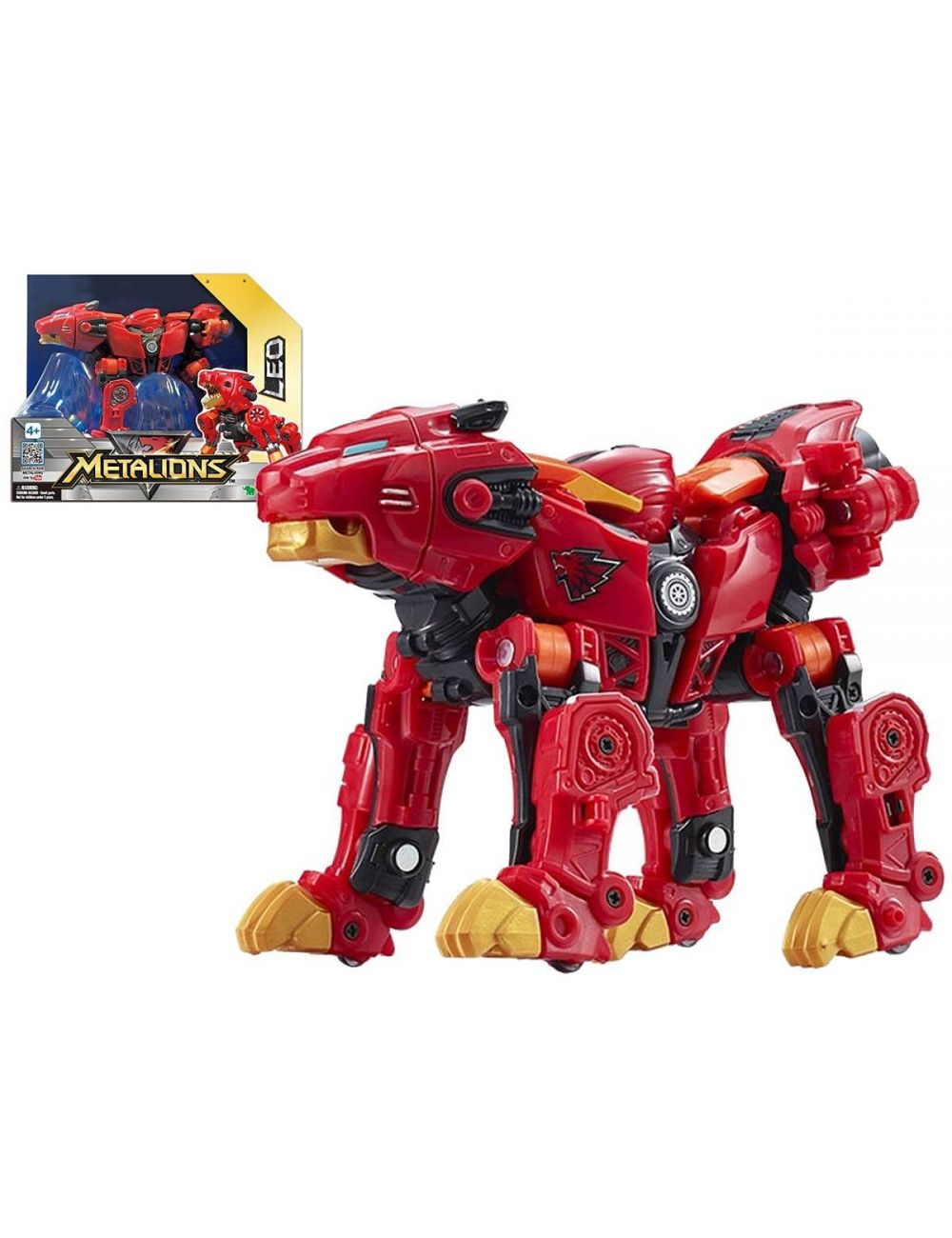 Metalions Leo Robot transformer figurka 314028