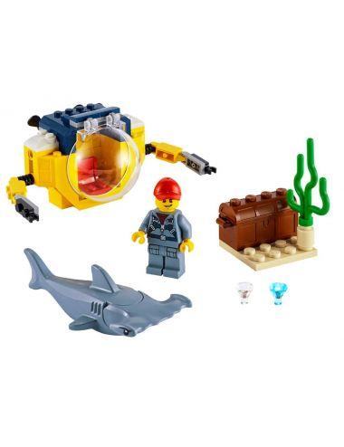 Lego Mini łódź klocki 60263