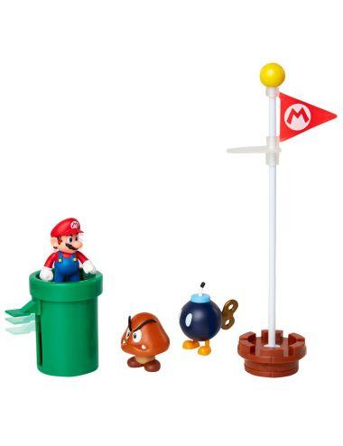 Super Mario Acorn Plains zestaw figurka 85987-4L