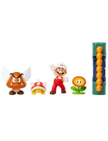 Super Mario Lava Castle zestaw podziemia 400154