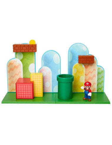 Super Mario Acorn Plains makieta z figurką 85991-PKR1