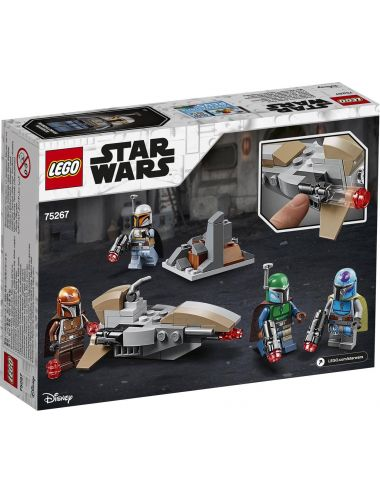 LEGO Star Wars Zestaw Bojowy Mandaloriani 75267