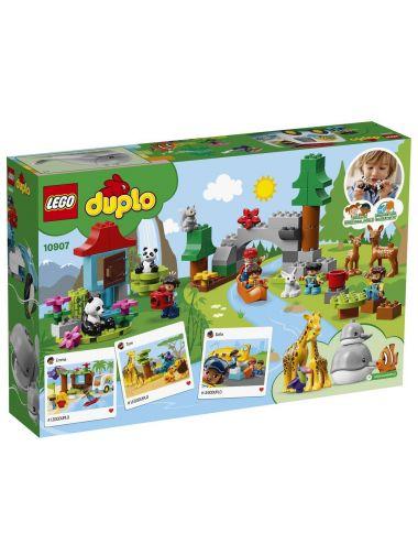 LEGO Duplo Zwierzęta Świata 10907