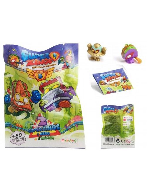 Super Zings Dwie Figurki saszetka dwupak Seria 5