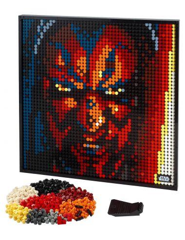 LEGO Art Sith Star Wars zestaw 3w1 obraz 31200