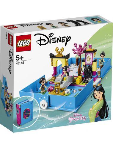 LEGO Disney Princess Książka z Przygodami Mulan 43174