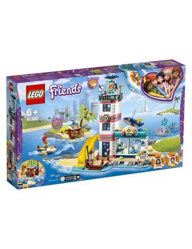 LEGO Friends Centrum ratunkowe w latarni morskiej 41380