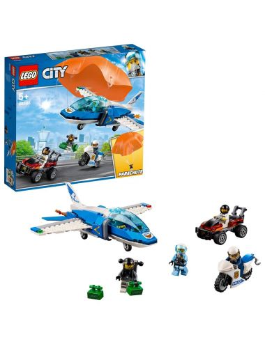 LEGO City Laweta Aresztowanie spadochroniarza 60208