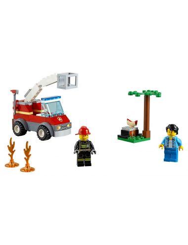 LEGO City Płonący grill 60212 klocki