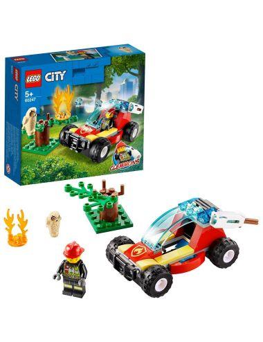 LEGO City Pożar lasu 60247 klocki
