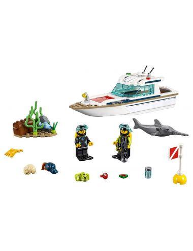 LEGO City Jacht 60221 klocki