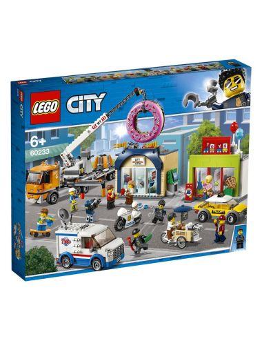 LEGO City Otwarcie sklepu z pączkami 60233
