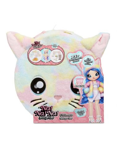 NaNaNa! Ultimate Surprise Tęczowy Kotek lalka Piper Prim 571810